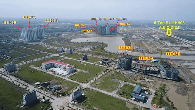 Chung cư B2.1 H02-HH03 Thanh Hà Mường Thanh