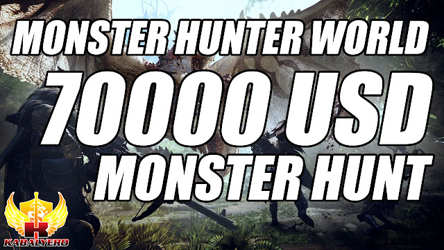 Monster Hunter World Trolls Players With A 70K USD Real Life Monster Hunt