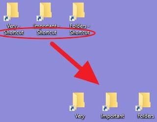 Windows 移除 捷徑字樣