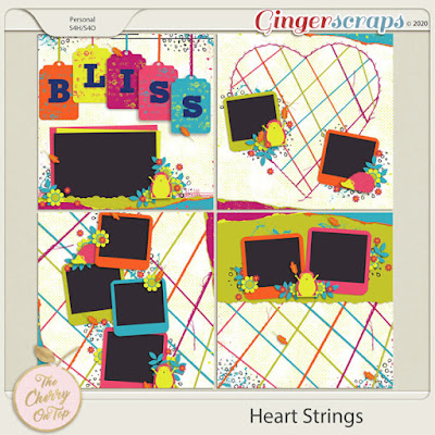 Heart Strings Templates