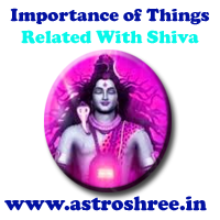 significance of shiva things, things related with shiva and there significance