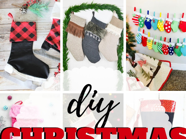 10+ Beautiful Handmade Christmas Stockings Project
