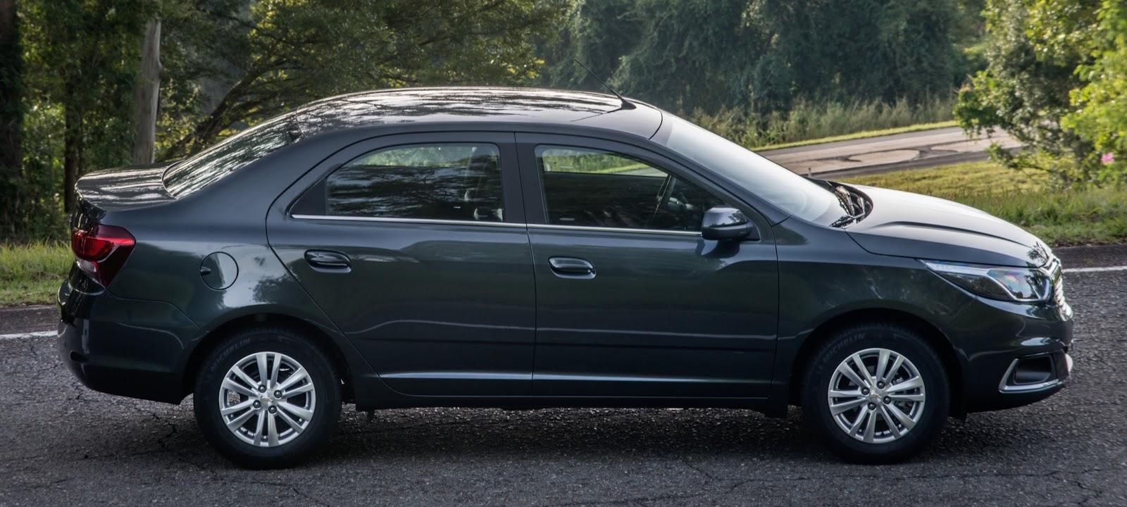 Chevrolet Spin e Cobalt ganham alterações mecânicas na linha 2017 ee0ce92509