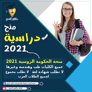 منحة الحكومة الروسية 2021 لدراسة البكالوريوس والماجستير والدكتوراة| Future in Russia Scholarship 2021