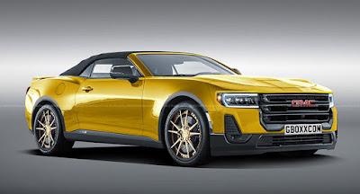 Bizarro Camaro: Le coupé 2020 GMC vous fera rechercher #auto