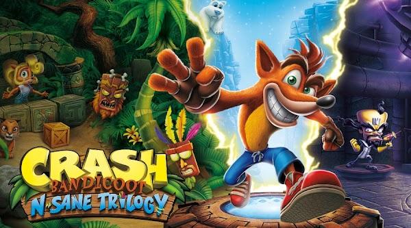 تحميل لعبة كراش Crash Bandicoot N Sane Trilogy للكمبيوتر تورنت