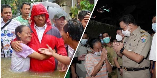 Kunjungi Cipinang Melayu, Anies Baswedan: Alhamdulillah Tidak Kebanjiran