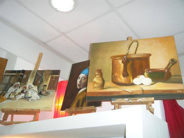 Les peintures de mes élèves à l'expo 27