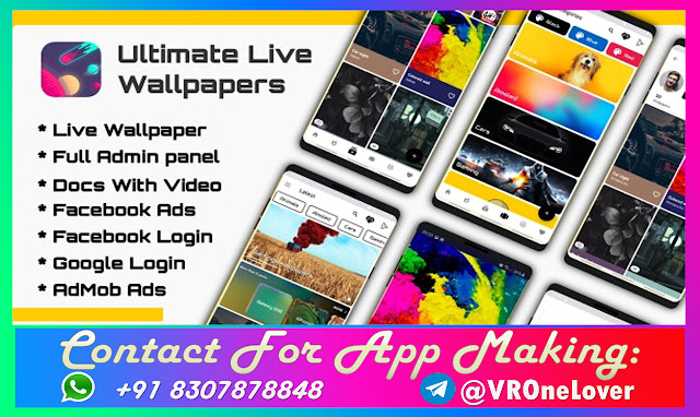 Ultimate Android Live Wallpapers Application (Video/Image/GIF)