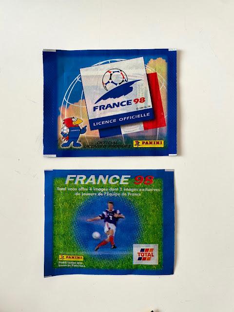 bustine Panini Francia 98