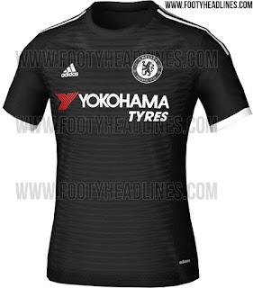 gambar resmi dan official Jersey Chelsea third Yokohama terbaru musim depan 2015/2016