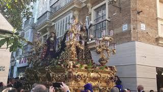 Nuestro Padre Jesús de los Afligidos por la Plaza de las Flores. Semana Santa Cádiz 2019