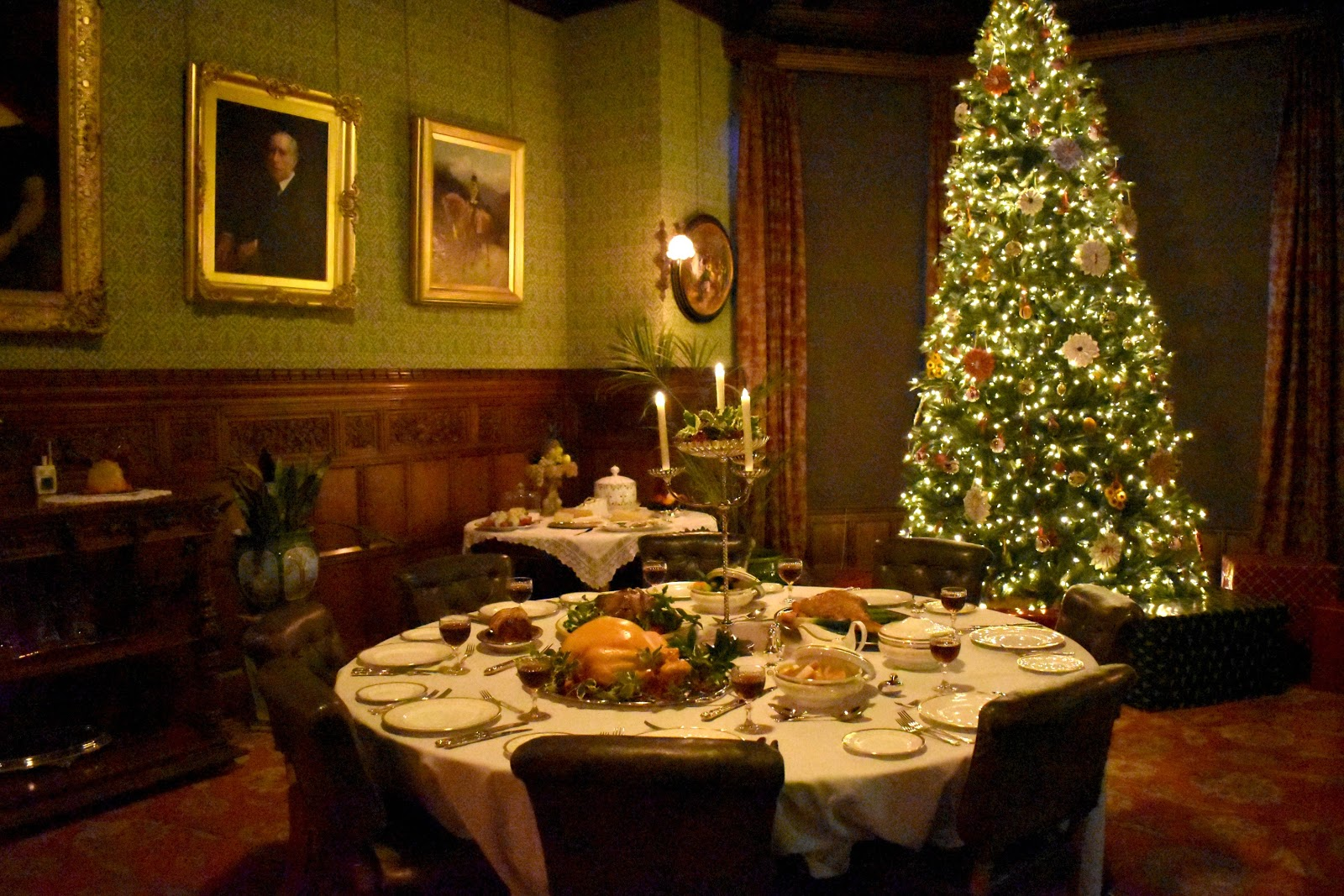Victorian Christmas at Cragside House