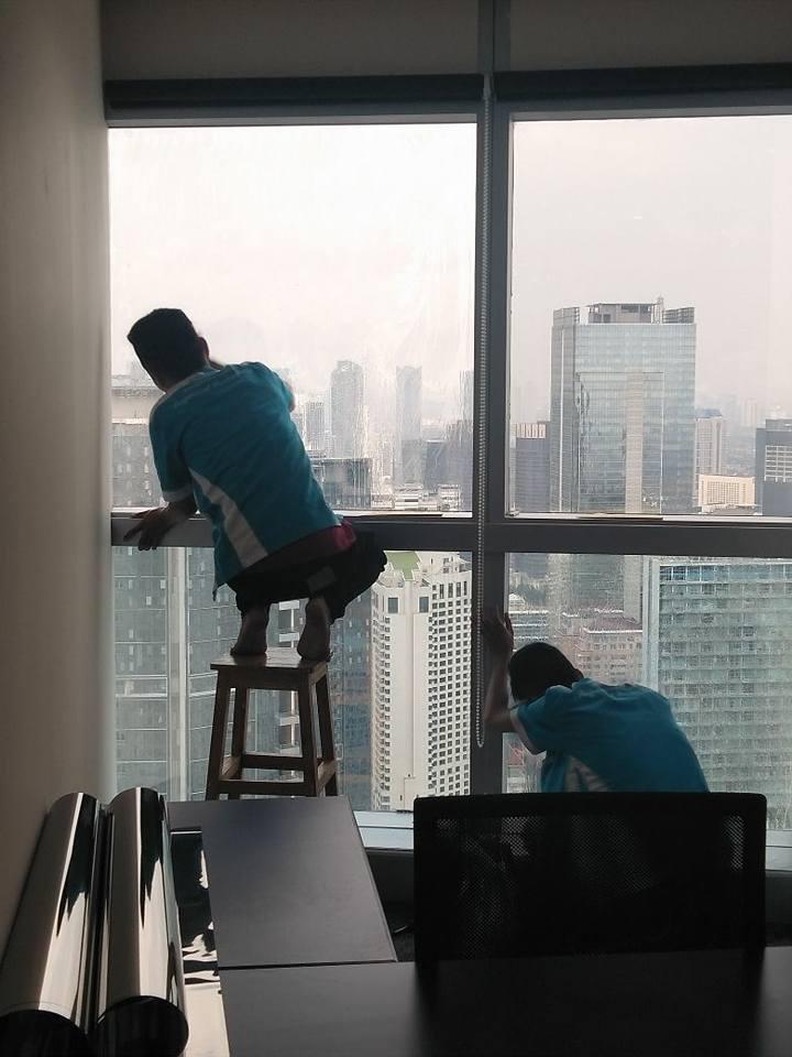 pemasangan kaca film rumah sakit Cilandak Jakarta Selatan bergaransi