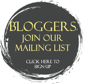 Bloggers: Join our Event Mailing List