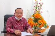 Sikapi Aksi Demo UU Ciptaker di Jambi, Rektor Unja Imbau Mahasiswa Jangan Anarkis