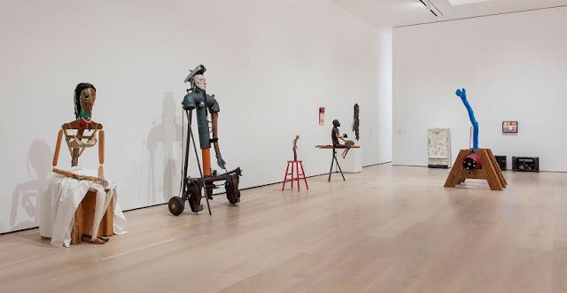 Obras de arte no Museu Hammer em Los Angeles