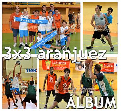Baloncesto 3x3 Aranjuez