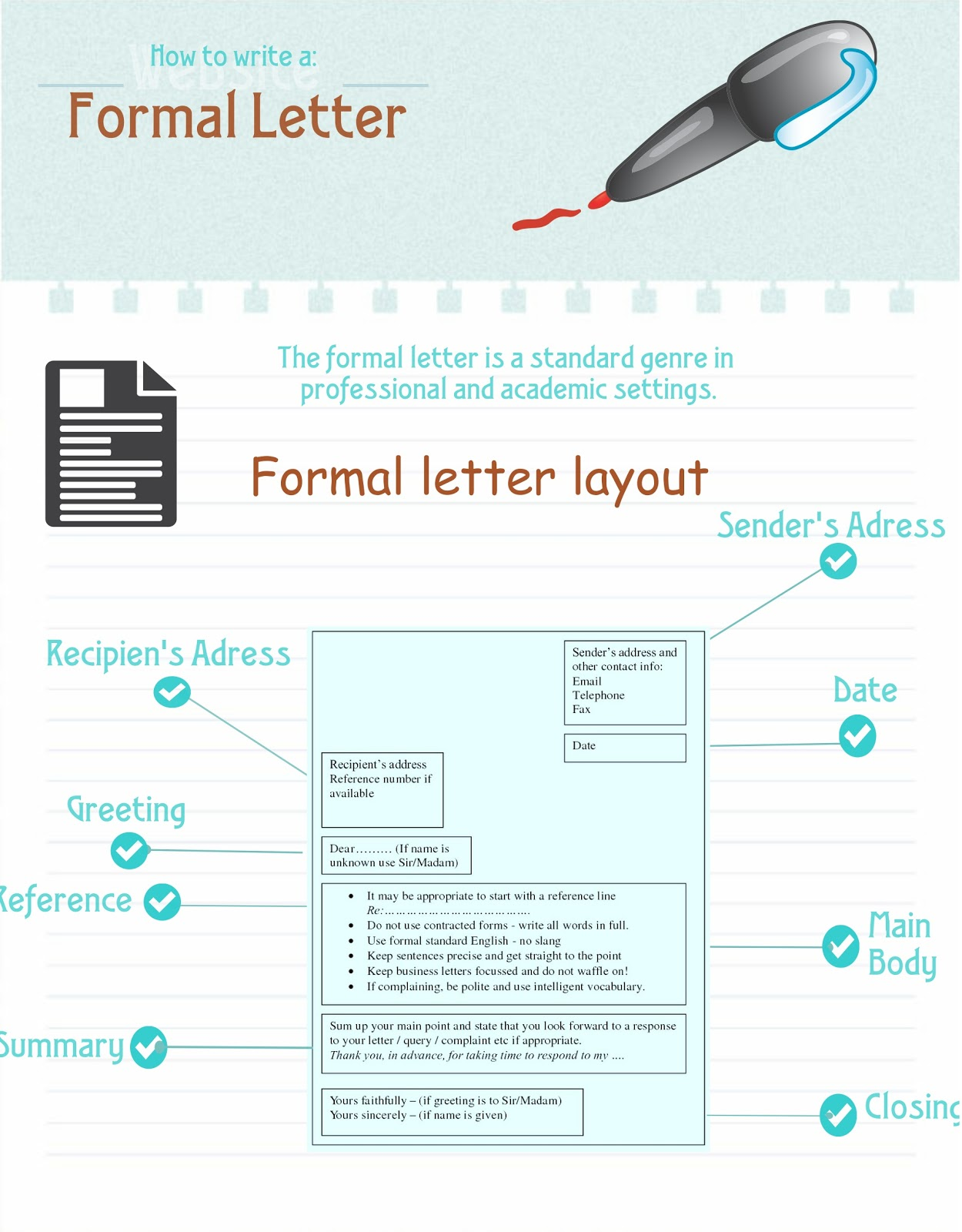 Formal writing production altavistaventures Choice Image