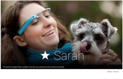 Update Google Glass, Bawa Akses Semua Kontak