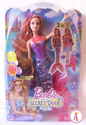 Интересная русалочки из мультика Барби и потайная дверь