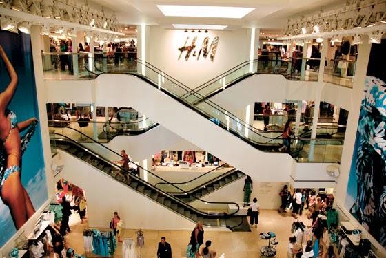 Loja H&M em Nova York