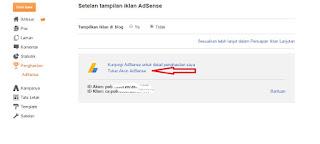 Cara menukar akun adsense di blogspot