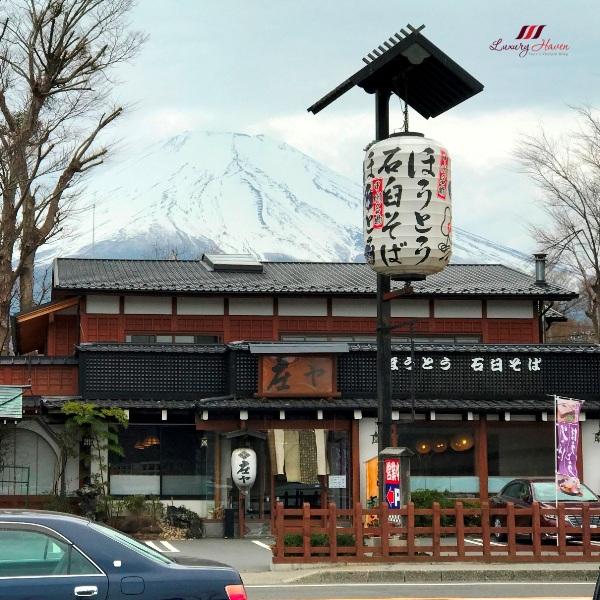 instagram yamanakako village shouya soba restaurant mt fuji