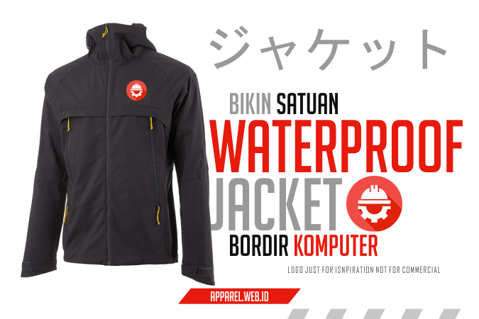 Waterproof Jacket Civil Engineering - Bikin JaCket Bordir Komputer Satuan