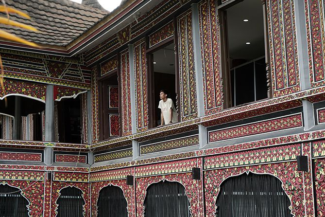 Jendela-jendela di Museum Adityawarman