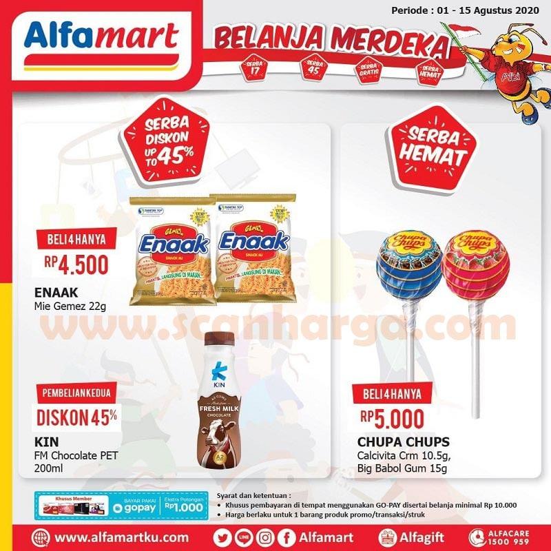 Alfamart Promo Belanja Merdeka Serba Diskon 17% dan 45% Periode 1 - 15 Agustus 2020 3