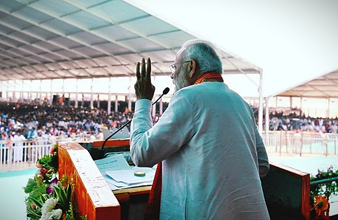 PM modi had story described to father and his 3 children on
