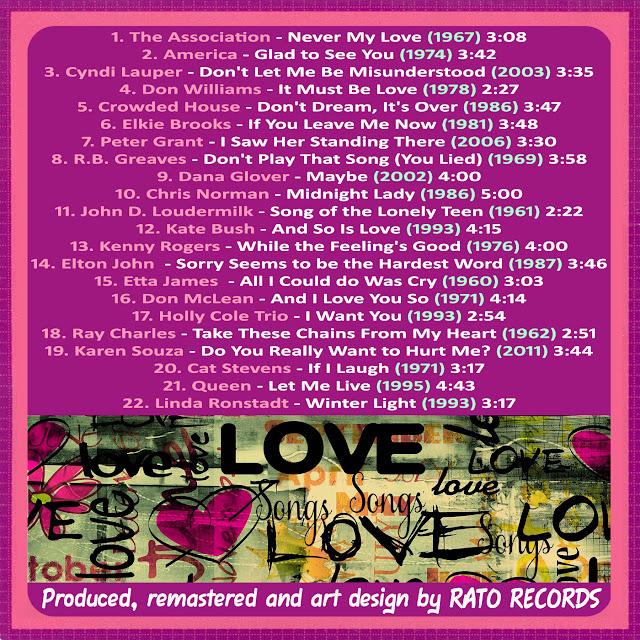 Cd LOVE SONGS FOREVER 5 Back