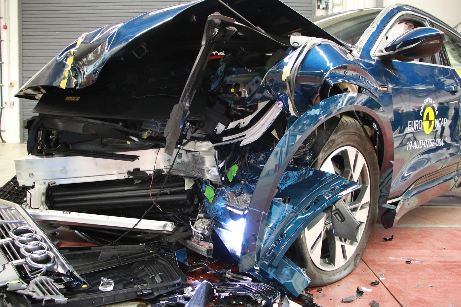 Audi e-tron Scores Five Star in Euro-NCAP Crash Test   VANDI4U