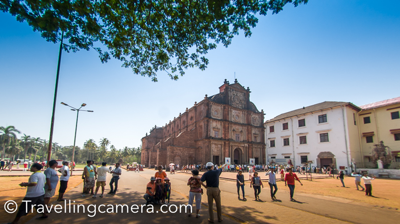 Anybody visiting Goa, certainly comes to Old part of Goa and visit these churches. This is a huge area where you see various churches, museums, parks and walking areas.