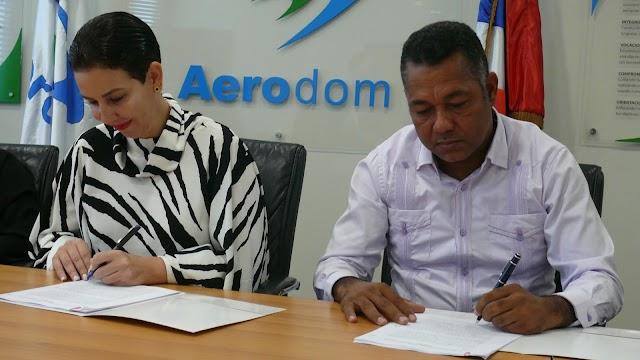Aerodom y CORAABO firman acuerdo de colaboración que pone fin a diferencias pasadas