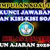 KUMPULAN SOAL PAT, KUNCI JAWABAN, DAN KISI-KISI SOAL KELAS I TAHUN AJARAN 2020-2021