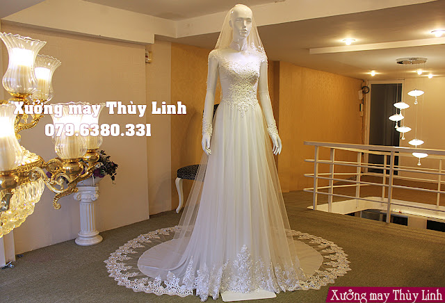 Bộ sưu tập mẫu áo dài cưới cách tân mới nhất năm 2019