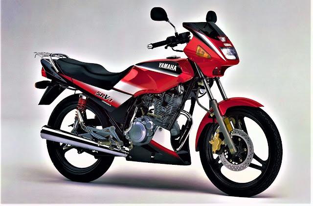 Yamaha SRV-1 Keluaran 1999, Dikuasakan Enjin 4 Lejang 150cc