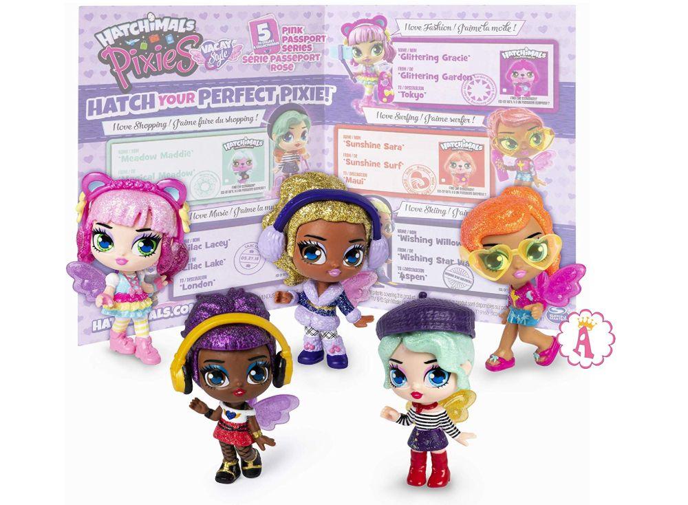 Серия кукол Хетчималс Пикси розовый паспорт 2020