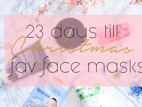 BLOGMAS :: 2 декември // Шест любими маски за лице