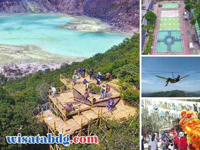 Sambut Tahun Baru 2020, Tempat-Tempat Wisata di Bandung Ini Hadirkan Fasilitas Baru