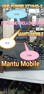 Motorola One Power XT1942-2 Deadboot Repair Emmcpinout-isp pinout-Testpoint