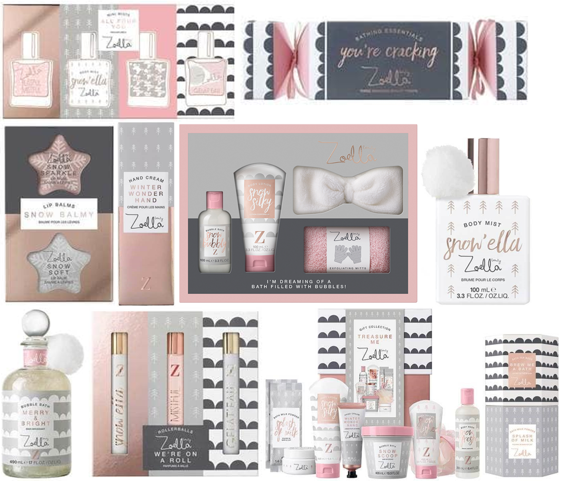 A Sprinkle Of Emily: Zoella Beauty Christmas Range 2017