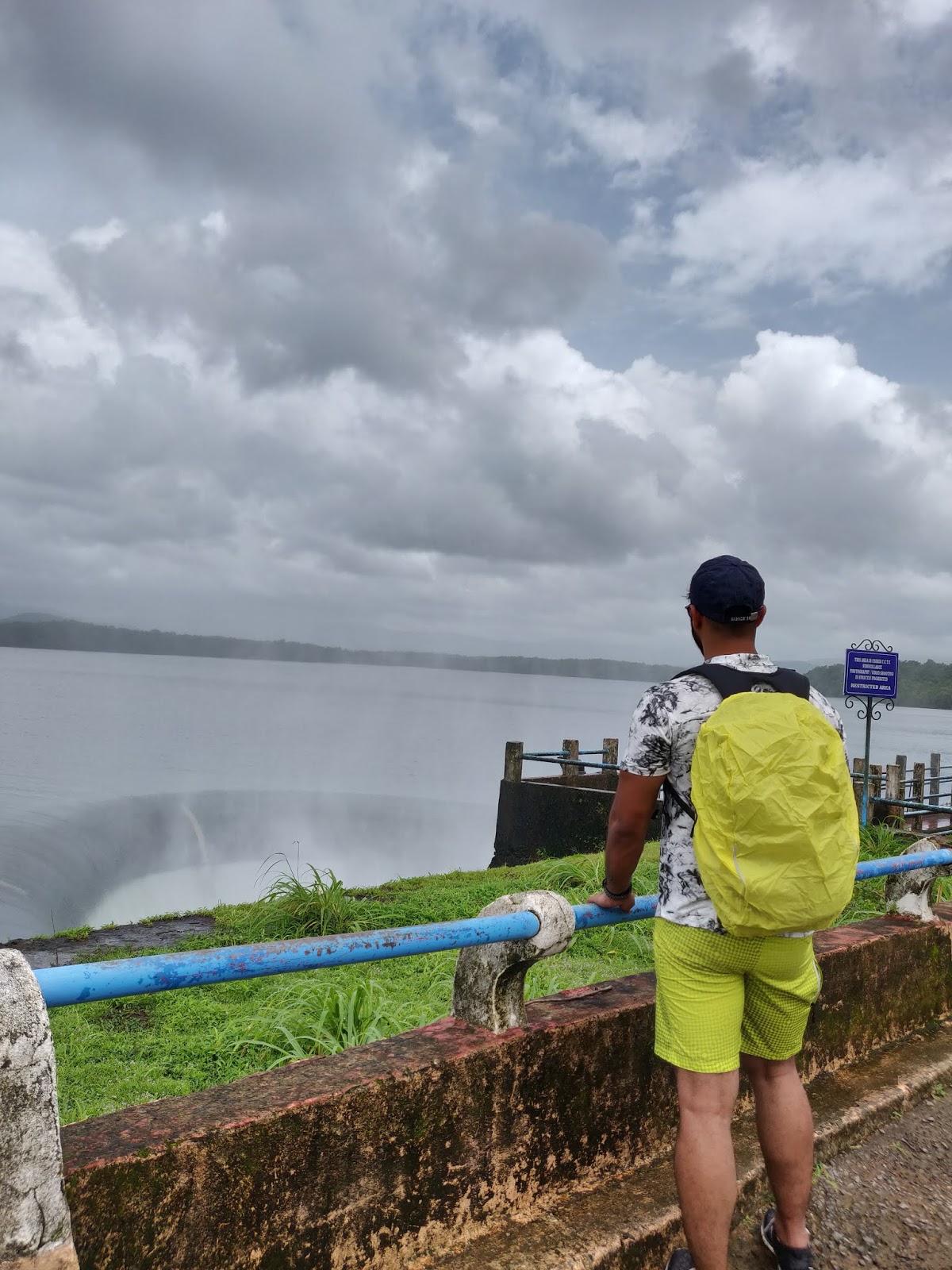 Salaulim Dam view.