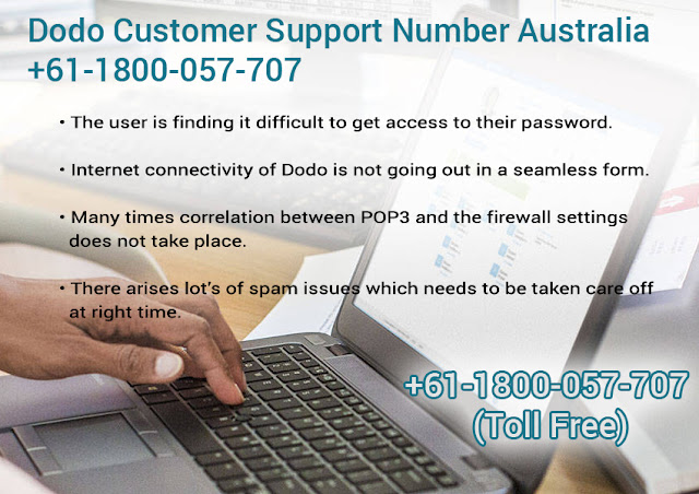 Dodo Tech Support 1-800-057-707 Australia Number
