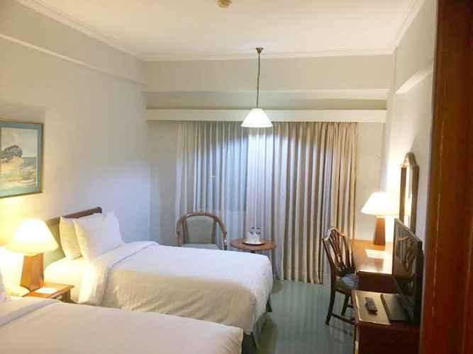 Sudut kamar tidur di Paragon Gallery Hotel Jakarta