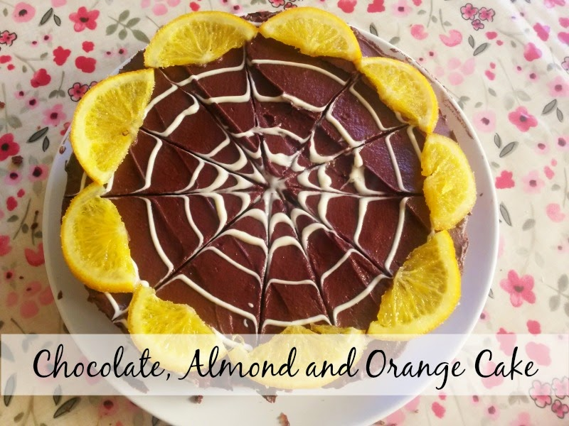 The Great British Bake Off Final - Chocolate Almond and Orange Cake Recipe