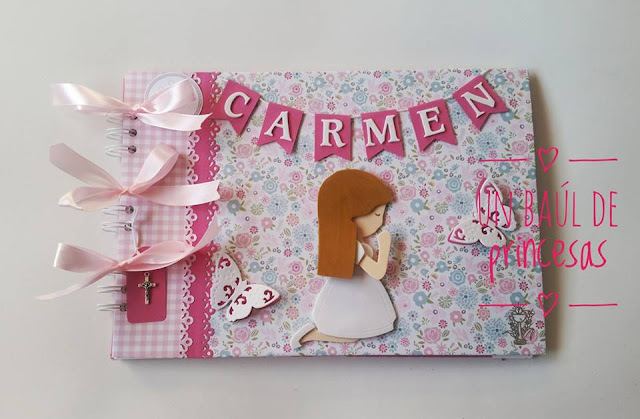 Libro de firmas de Carmen