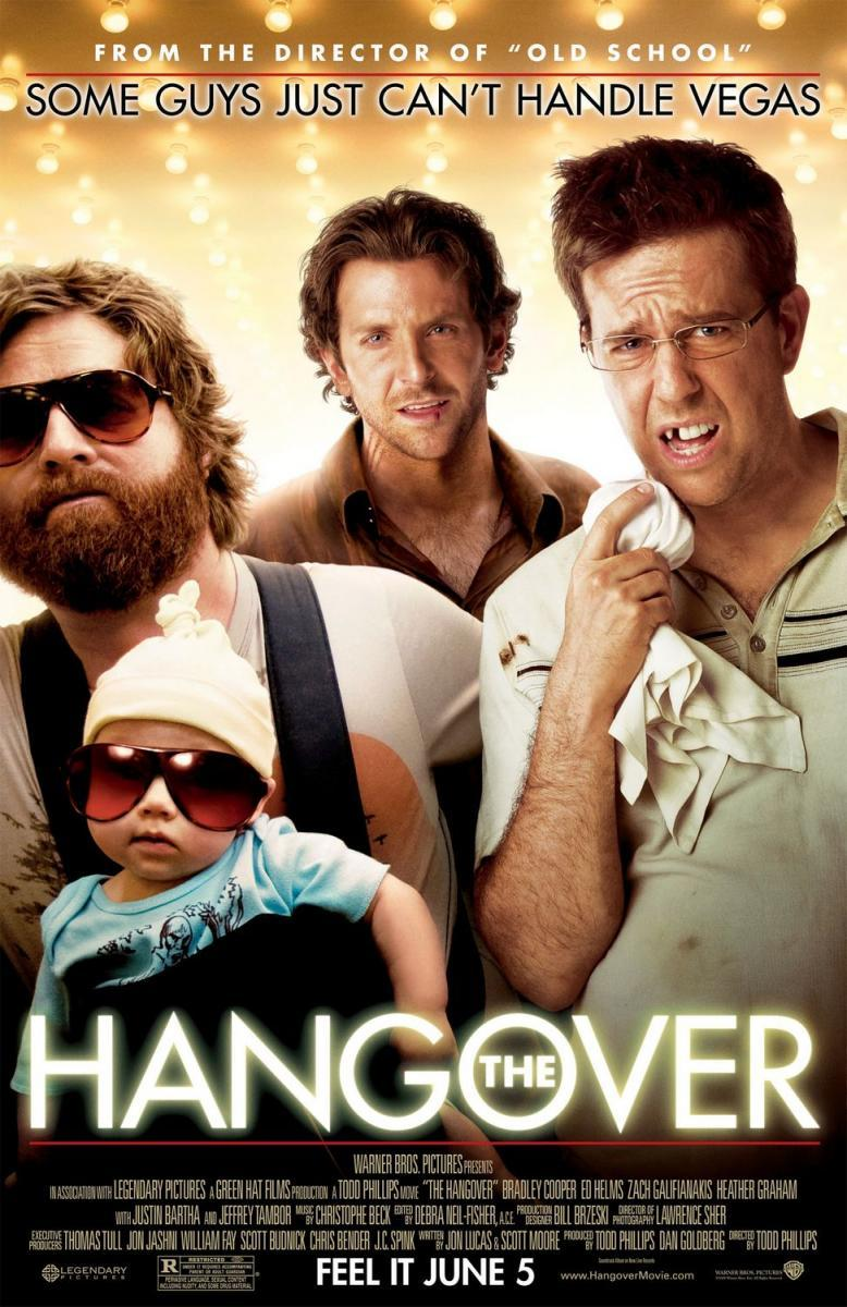 Download The Hangover (2009) Full Movie in Hindi Dual Audio BluRay 720p [1GB]